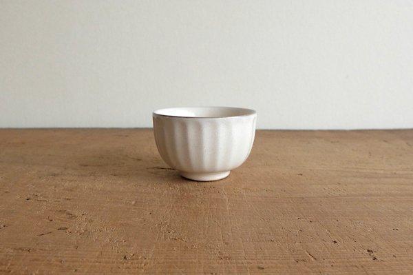 ソギ碗  粉引き