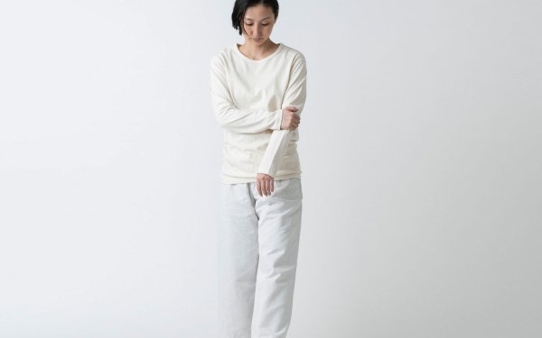 【new】yohaku TUTU ロングスリーブTシャツ|キナリ|ユニセックス3サイズ