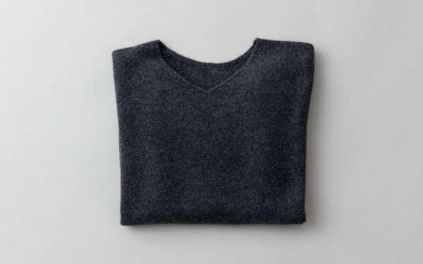 【sold out】enrica cashmere knit / charcoal