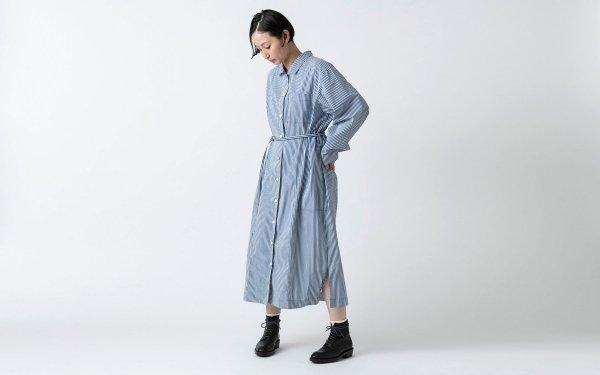 木間服装製作 / longshirt stripe / unisex 1size