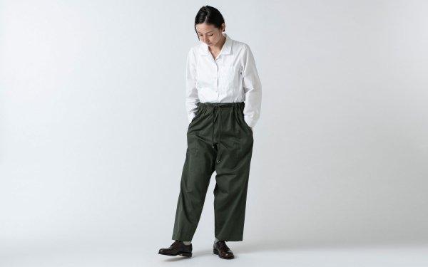 木間服装製作 / pants kahki / unisex 1size