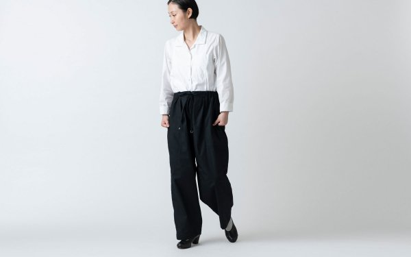 木間服装製作 / pants black / unisex 1size