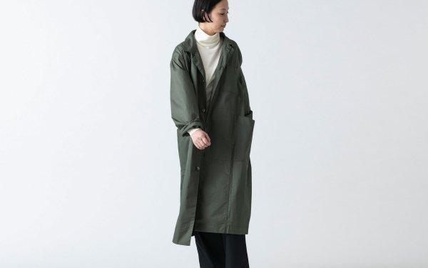 木間服装製作 / coat タイプライター khaki / unisex 1size