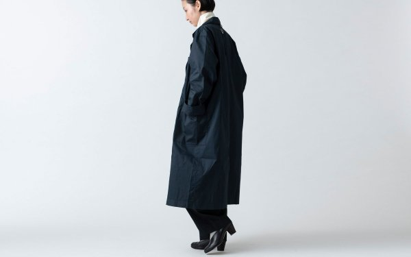 【再入荷】木間服装製作 / coat タイプライター navy / unisex 1size