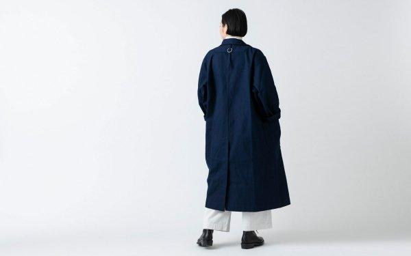 木間服装製作 / coat 帆布 navy / unisex 1size
