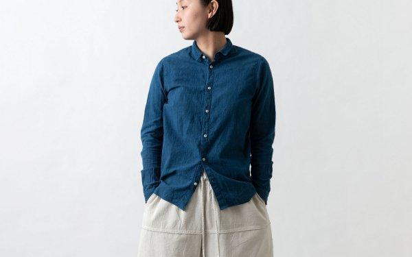 MITTAN / カディシャツ 藍(補強)SH-03CH / unisex