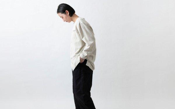 MITTAN / カディワイドシャツ ベンガラ白(補強)SH-17BH  / unisex