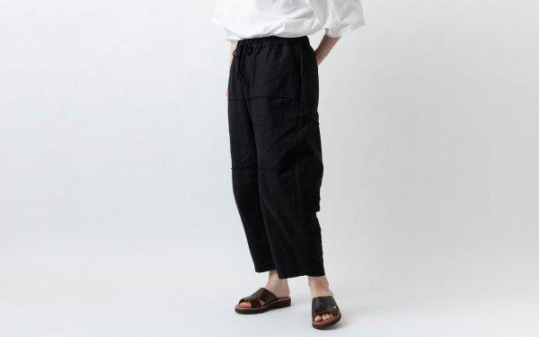 MITTAN / 竹パンツ PT-09 黒 / unisex