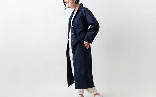 木間服装製作 / longshirt navy / unisex 1size