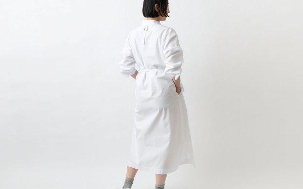 木間服装製作 / longshirt white / unisex 1size