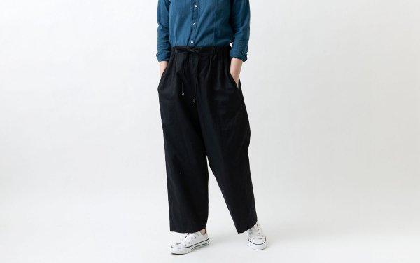 木間服装製作 / pants black / unisex 1size