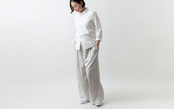 enrica pants081 lightgrey / natural dye / size 38