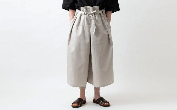 きるもの|袴パンツ(コットン)