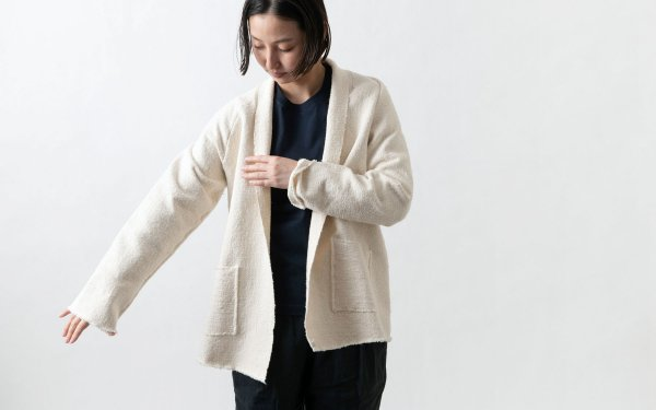 MITTAN / OCガラ紡ジャケット 生成り JK-07 / unisex