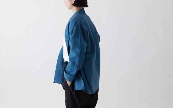 MITTAN / OCガラ紡ジャケット 藍×胡桃 JK-07C / unisex