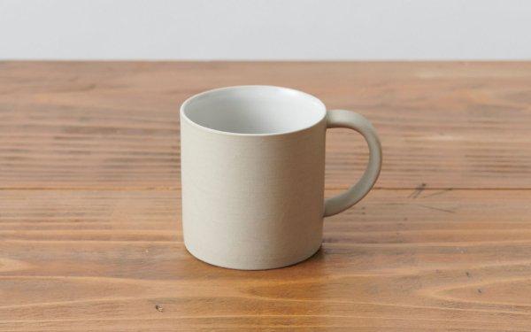 マグカップ 白 焼き締め