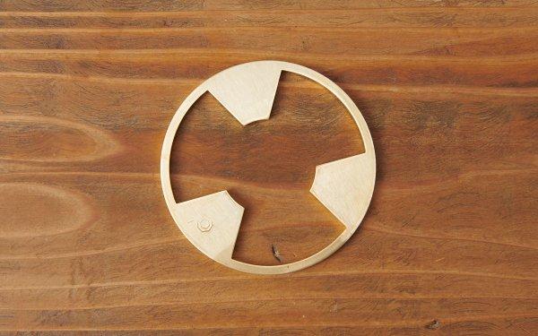 コーヒードリッパー用 真鍮台