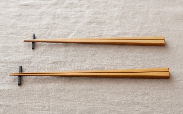 竹箸 拭き漆 白竹|2サイズ