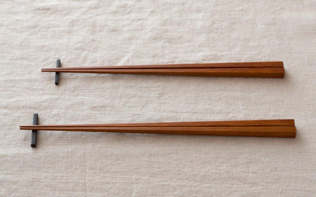 竹箸拭き漆