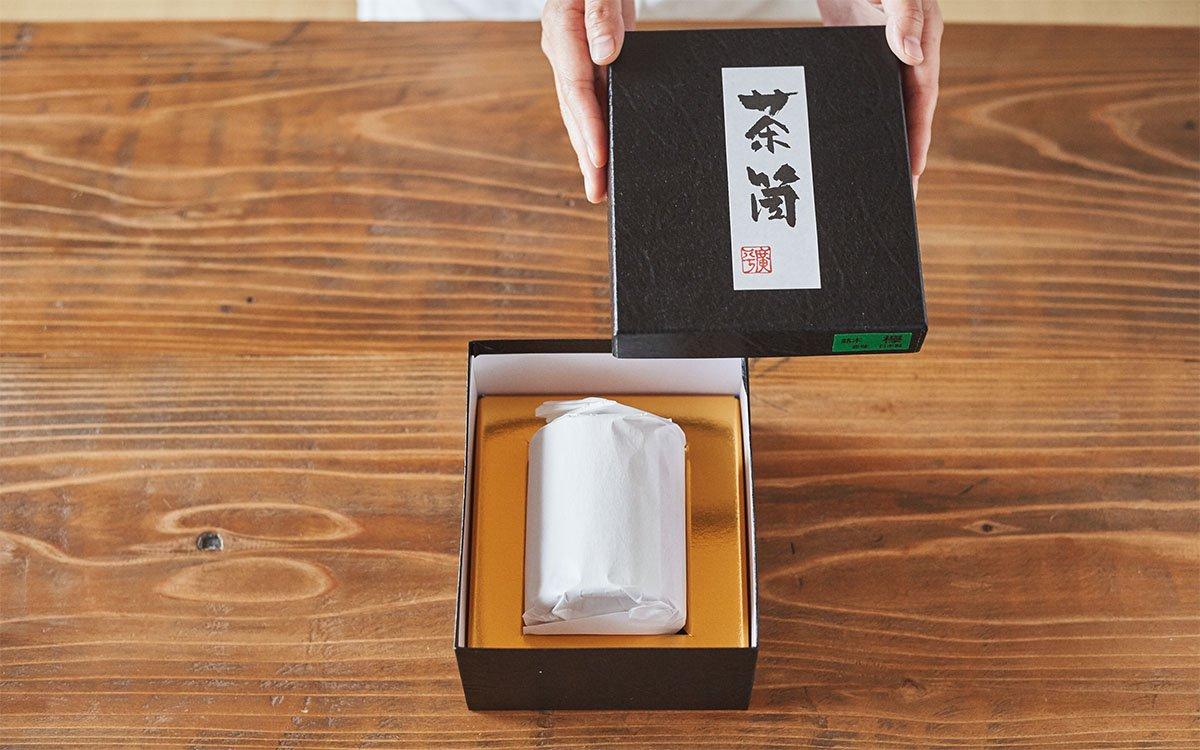 茶筒贈答用箱