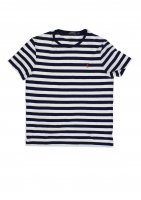POLO RALPH LAUREN -ONE POINT BORDER T-SHIRTS(NAVY)<img class='new_mark_img2' src='//img.shop-pro.jp/img/new/icons5.gif' style='border:none;display:inline;margin:0px;padding:0px;width:auto;' />