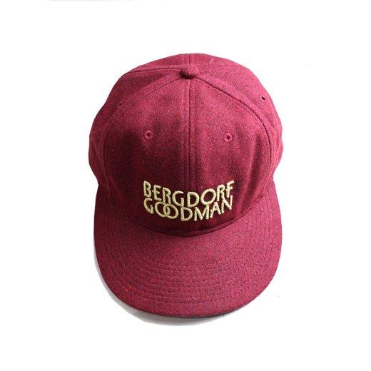 KITH×BURGDORF GOODMAN-CAP(BURGUNDY)