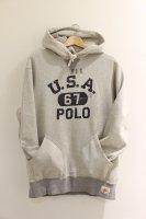 <40%OFF>POLO RALPH LAUREN -USA 67 HOODIE(GRAY)<img class='new_mark_img2' src='https://img.shop-pro.jp/img/new/icons20.gif' style='border:none;display:inline;margin:0px;padding:0px;width:auto;' />