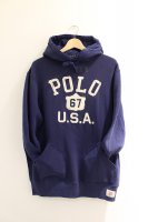 <40%OFF>POLO RALPH LAUREN -USA 67 HOODIE(NAVY)<img class='new_mark_img2' src='https://img.shop-pro.jp/img/new/icons20.gif' style='border:none;display:inline;margin:0px;padding:0px;width:auto;' />