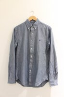 POLO RALPH LAUREN -SLIM FIT BUTTON DOWN L/S SHIRTS(BLUE)<img class='new_mark_img2' src='//img.shop-pro.jp/img/new/icons5.gif' style='border:none;display:inline;margin:0px;padding:0px;width:auto;' />