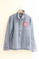 STARTER -DENIM COACH JACKET(CHICAGO)<img class='new_mark_img2' src='https://img.shop-pro.jp/img/new/icons5.gif' style='border:none;display:inline;margin:0px;padding:0px;width:auto;' />