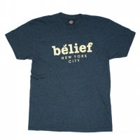 【20%OFF】BELIEF NYC -MARKET S/S T-SHIRTS(BLACK AQUA)<img class='new_mark_img2' src='//img.shop-pro.jp/img/new/icons20.gif' style='border:none;display:inline;margin:0px;padding:0px;width:auto;' />