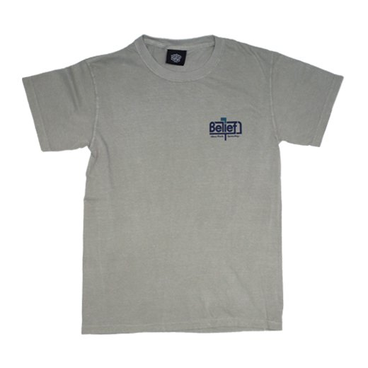 BELIEF NYC -POSTED S/S T-SHIRTS(SAND ...