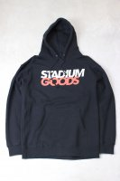 STADIUM GOODS-LOGO HOODIE(BLACK)<img class='new_mark_img2' src='//img.shop-pro.jp/img/new/icons5.gif' style='border:none;display:inline;margin:0px;padding:0px;width:auto;' />