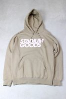 STADIUM GOODS-LOGO HOODIE(BAIGE)<img class='new_mark_img2' src='//img.shop-pro.jp/img/new/icons5.gif' style='border:none;display:inline;margin:0px;padding:0px;width:auto;' />