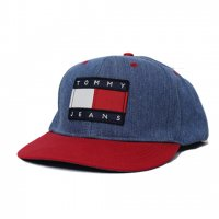 TOMMY JEANS-SNAP BACK CAP(DENIM)<img class='new_mark_img2' src='https://img.shop-pro.jp/img/new/icons5.gif' style='border:none;display:inline;margin:0px;padding:0px;width:auto;' />