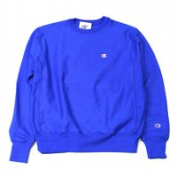 Champion-REVERSE WEAVE CREW NECK SWEAT(BLUE)<img class='new_mark_img2' src='//img.shop-pro.jp/img/new/icons5.gif' style='border:none;display:inline;margin:0px;padding:0px;width:auto;' />