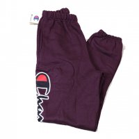 Champion-REVERSE WEAVE SCRIPT LOGO SWEAT PANTS(BURGUNDY)<img class='new_mark_img2' src='//img.shop-pro.jp/img/new/icons5.gif' style='border:none;display:inline;margin:0px;padding:0px;width:auto;' />