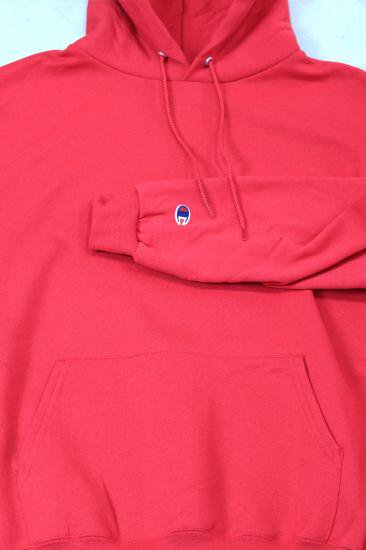 Champion-DOUBLE DRY ECO HOODIE(RED)
