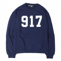 NINE ONE SEVEN(917)-CREW NECK SWEAT(NAVY)<img class='new_mark_img2' src='https://img.shop-pro.jp/img/new/icons5.gif' style='border:none;display:inline;margin:0px;padding:0px;width:auto;' />