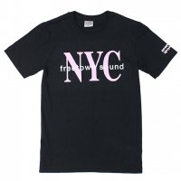 【20%OFF】KNOW WAVE-NYC S/S T-SHIRT(BLACK)<img class='new_mark_img2' src='https://img.shop-pro.jp/img/new/icons20.gif' style='border:none;display:inline;margin:0px;padding:0px;width:auto;' />