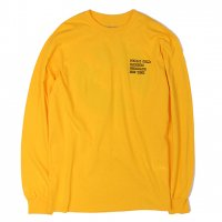 FOOL'S GOLD-FRBN  L/S T-SHIRT(YELLOW)<img class='new_mark_img2' src='https://img.shop-pro.jp/img/new/icons5.gif' style='border:none;display:inline;margin:0px;padding:0px;width:auto;' />
