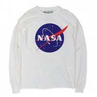 NASA-L/S T-SHIRT(WHITE)<img class='new_mark_img2' src='//img.shop-pro.jp/img/new/icons5.gif' style='border:none;display:inline;margin:0px;padding:0px;width:auto;' />