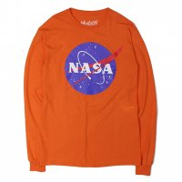 NASA-L/S T-SHIRT(ORENGE)<img class='new_mark_img2' src='//img.shop-pro.jp/img/new/icons5.gif' style='border:none;display:inline;margin:0px;padding:0px;width:auto;' />