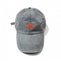 【20%OFF】PSYCIC HEARTS-LOGO CAP(BLACK WASH DENIM)<img class='new_mark_img2' src='//img.shop-pro.jp/img/new/icons20.gif' style='border:none;display:inline;margin:0px;padding:0px;width:auto;' />