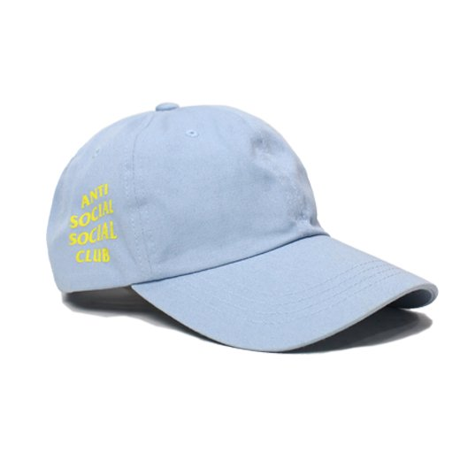 ANTI SOCIAL SOCIAL CLUB-CAP(SKY BLUE)