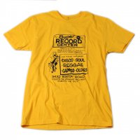 ATW -SUPER RECORD CENTER S/S T-SHIRT(YELLOW)<img class='new_mark_img2' src='//img.shop-pro.jp/img/new/icons20.gif' style='border:none;display:inline;margin:0px;padding:0px;width:auto;' />