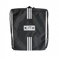 KITH×adidas-SOCCER DRAWSTRING BAG(BLACK)<img class='new_mark_img2' src='https://img.shop-pro.jp/img/new/icons5.gif' style='border:none;display:inline;margin:0px;padding:0px;width:auto;' />