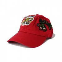 NO BRAND-GC INSPIRE TIGER CAP(RED)<img class='new_mark_img2' src='https://img.shop-pro.jp/img/new/icons5.gif' style='border:none;display:inline;margin:0px;padding:0px;width:auto;' />
