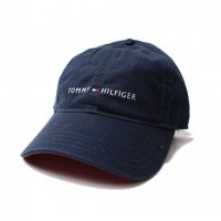 TOMMY HILFIGER-6PANEL CAP(NAVY)<img class='new_mark_img2' src='//img.shop-pro.jp/img/new/icons5.gif' style='border:none;display:inline;margin:0px;padding:0px;width:auto;' />