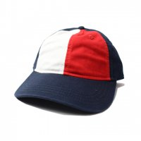TOMMY HILFIGER-6PANEL CAP(NAVY×WHITE×RED)<img class='new_mark_img2' src='//img.shop-pro.jp/img/new/icons5.gif' style='border:none;display:inline;margin:0px;padding:0px;width:auto;' />